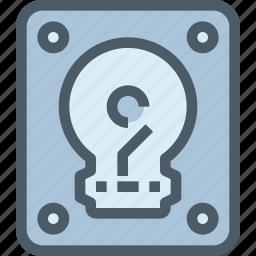 computer, disk, hard, hardware icon