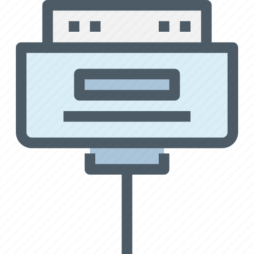 Cable, computer, connector, hardware icon - Download on Iconfinder