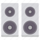 hardware, speaker, speakers icon