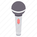audio, mic, mike, music, sound, speak icon