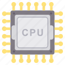 chip, cpu, memory, processor icon