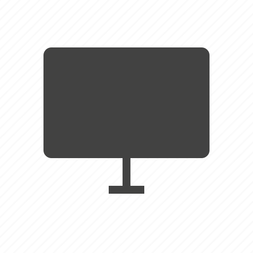 display, lcd, led, monitor, screen, television, tv icon