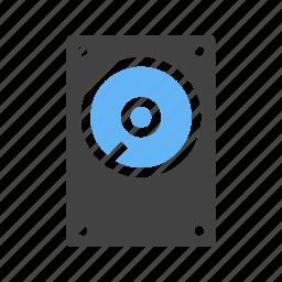 data, drive, file, hard disk, media, record, storeage device icon