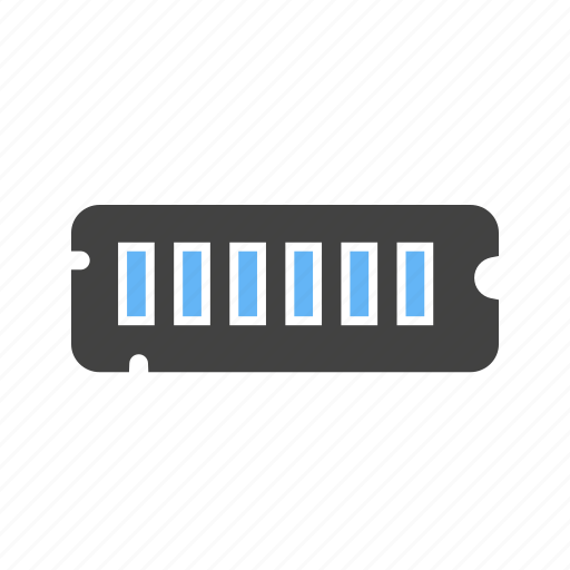 card, chip, circuit, ddr2, memory, microchip, ram icon