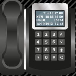 call, communication, office, operator, telecommunication, telephone, work icon