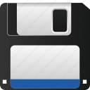 data, device, disk, floppy, information, storage, technology icon