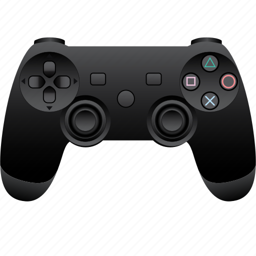 computer, controller, game, hardware, joystick, play, playstation icon