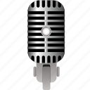 media, microphone, radio, recording, sound, technology, voice icon