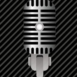 media, microphone, radio, recording, sound, technology, voice icon