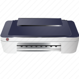 computer, device, media, paper, printer, scanner, technology icon