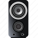 audio, music, sound, speaker, stereo, studio, technology icon