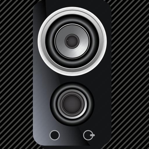 audio, music, sound, speaker, stereo, studio, technology icon
