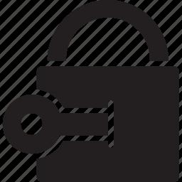 computer, connection, internet, lock, network, website icon