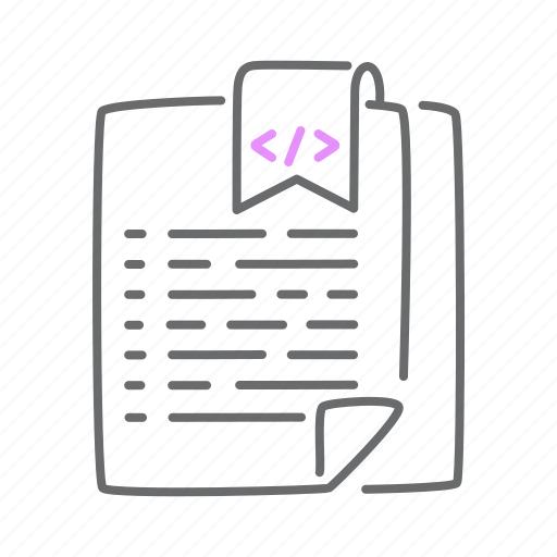 bookmark, code, coding, favorite, html, soft icon