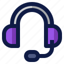 communication, earphones, headphones, headset, sound icon