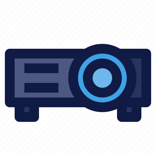 beamer, component, computer, display, projector icon