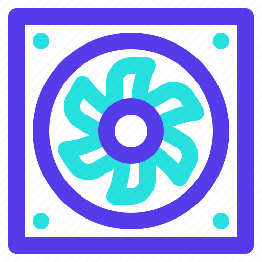 component, computer, cooler, fan, hardware icon