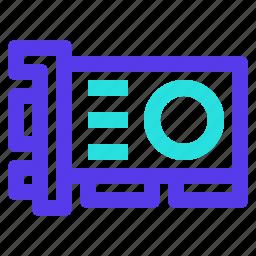 card, component, computer, hardware, vga, video icon