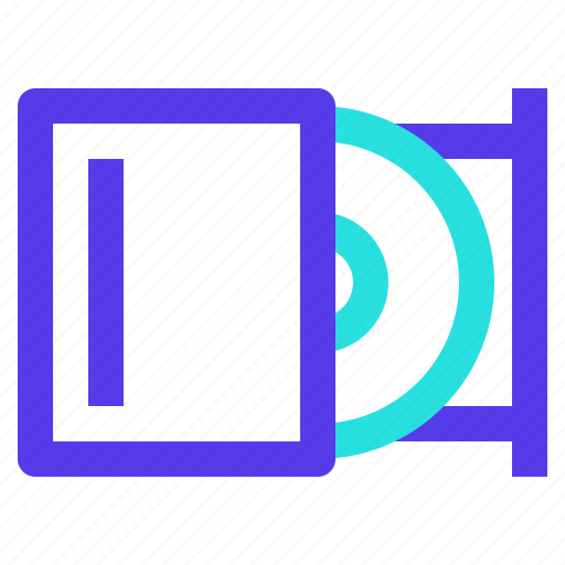 cd, component, computer, dvd, multimedia, room icon