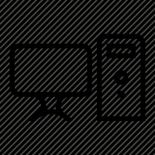 Computer, desktop, electronic, hardware, pc icon - Download on Iconfinder