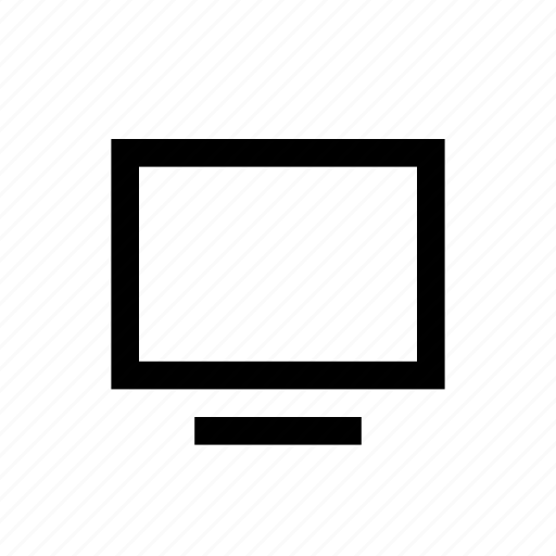computer, device, display, monitor, screen icon