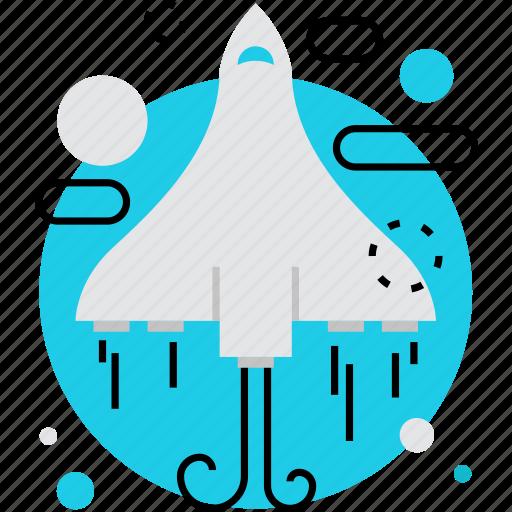 flight, interstellar, mission, ship, shuttle, space, spaceship icon