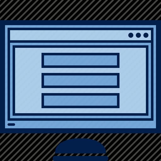 computer, display, hardware, monitor, monitoring, pc, screen icon
