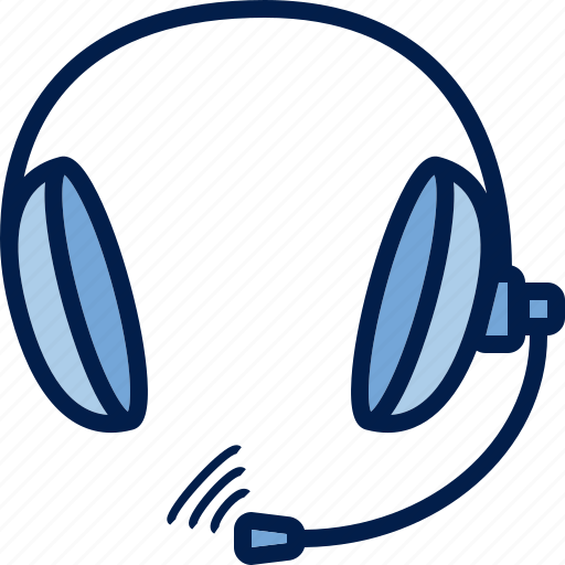 computer, hardware, headphones, headset, pc, sound, typeface icon