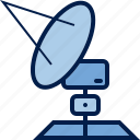 antenna, computer, dish, hardware, repeater, satellite, transmitter icon