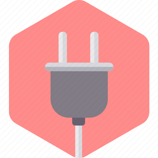 Cable, connector, electric, electricity, energy, plug, power icon - Download on Iconfinder