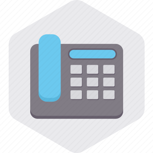 call, communication, interaction, landline, phone, telephone icon