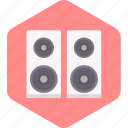 audio, music, song, sound, speaker, volume icon