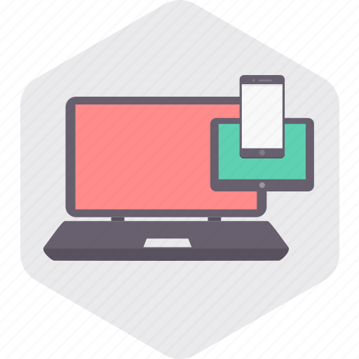 computer, internet, laptop, smartphone, tablet, technology icon