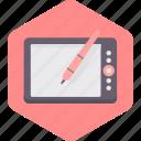 ipad, pen, screen, tablet, technology