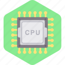 computer, cpu, device, hardware, internet, technology icon
