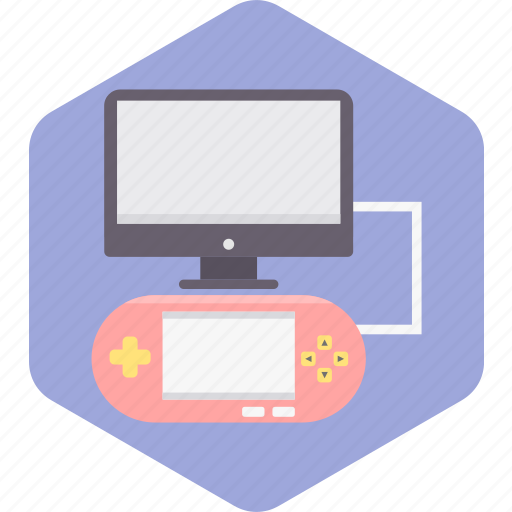 computer, game, laptop, play, player, sport, video icon