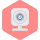 call, camera, cctv, photo, video, web icon