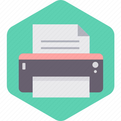 paper, print, printer, sheet, text, type icon
