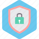 award, badge, lock, protection, secure, shield icon