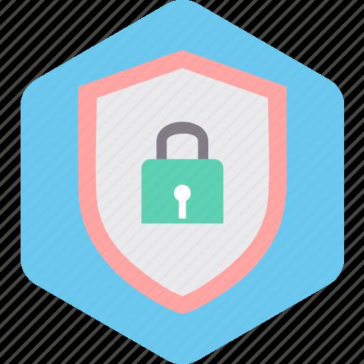 award, badge, lock, protection, secure, shield icon