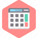 add, calculate, calculation, calculator, maths, numbers icon