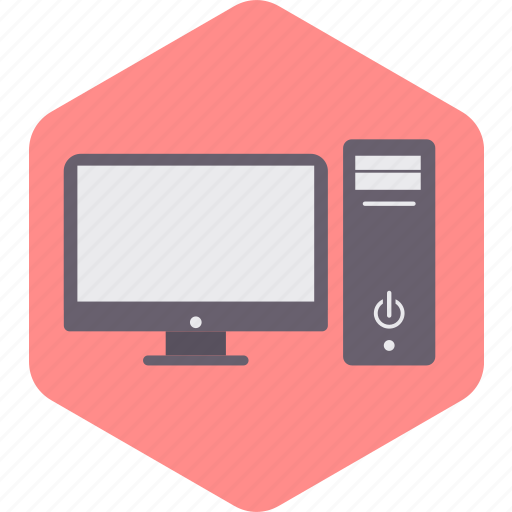 business, computer, cpu, desktop, monitor, screen icon