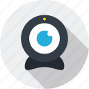 communication, connection, network, social, web, webcam icon icon