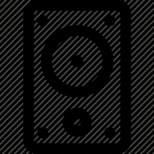 audio, multimedia, player, sound, speaker, volume icon