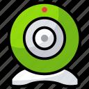 digital cam, video chat, video communication, web camera, webcam icon
