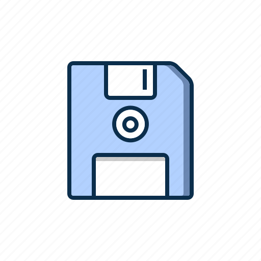 computer, drive, floppy, hardware icon