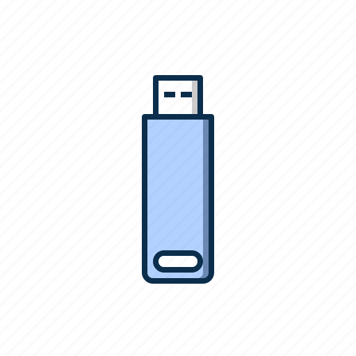 computer, data, hardware, pendrive, space, storage icon