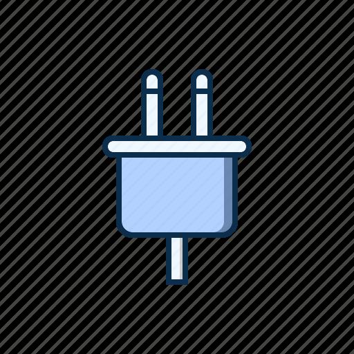 jack, plug, plugin, power icon