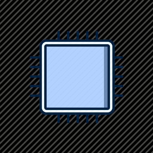 computer, hardware, processor icon
