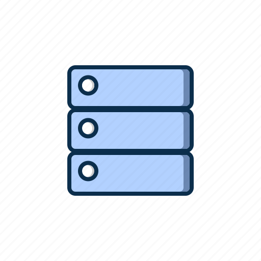cpu, internet, server, web icon